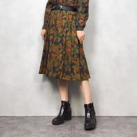 Burberry set up  green skirt-593-10