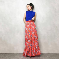 OBER STOFF tropical  flower skirt