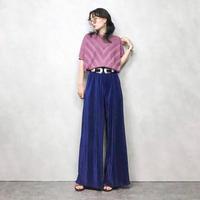 Dolman sleeve purple summer knit-330