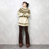 Nordic oversize knit-693-11