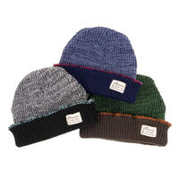 KNITCAP / COTTON TAG 3 TPONE CUFF