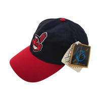 Dead Stock / MLB / Cleveland Indians 6 Panel Cap / Navy × Red / Used