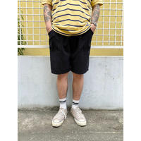 Made in USA / Cotton Baker Easy Shorts  / Black / Used