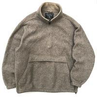 Eddie Bauer / Heavy Fleece Jacket / Beige / Used