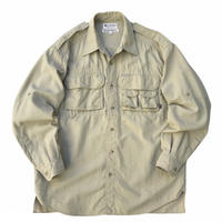00s Columbia / GRT L/S Fishing Shirt / Beige / Used