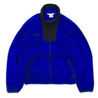 90s Columbia / Full Zip Fleece Jacket / Blue / Used