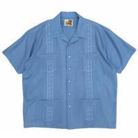 Guayabera / Cuba Shirt / Lt.Blue / Used