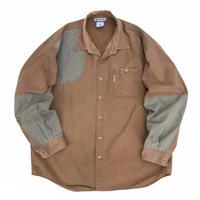 90's Columbia / Hunting Shirt / Brown / Used