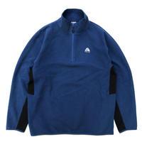 NIKE ACG / Half Zip Fleece Jacket / Blue × Black / Used