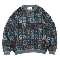 Made in Italy / Pullover Multi Knit Sweater / Multi / Used