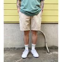 Polo Ralph Lauren /  Cotton No tuck Shorts  / Beige / Used (J)