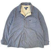 Made in USA / Polo Ralph Lauren / Fleece Jacket / Grey / Used