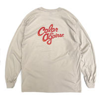 Color at Against ORIGINALS / C&C Long Sleeve TEE / Sand