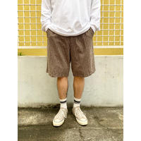 DOCKERS / Cotton Check Shorts  / Brown38 / Used