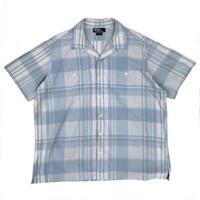 Polo Ralph Lauren / S/S Open Collar Shirt / Sax / Used
