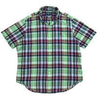Polo Ralph Lauren / Cotton B.D. Multi Check Shirt / Multi Check / Used