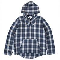 Tokyo Gimmicks Anorak Shirt  / Blue Check