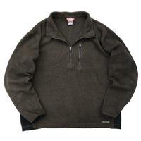 Nike ACG / Half Zip Fleece Pullover / Brown / Used