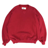 Made in USA / 80s L.L.Bean × Russell Athletic / Cotton Crew Neck Sweat / Red / Used