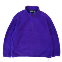 90s EBTEK / Pullover Fleece Jacket / Purple / Used