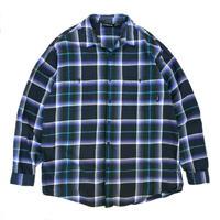90s Patagonia / Cotton Check Shirt / Navy Check / Used