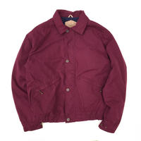 Made in USA / 90s Woolrich / 2Pocket Padding Jacket / Burgundy / Used