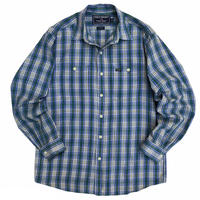 POLO SPORT by Raph Lauren / 2Pocket Cotton Multi Checked Shirt / Used