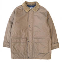 90s L.L.Bean / Hunting Down Coat / Beige / Used