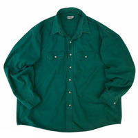 90's FIVEBROTHER / Cotton 2Pocket Shirt / Forest / Used