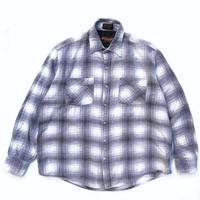 L/S Shadow Check Shirt / BLUE / Used