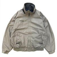 Columbia / Full Zip Nylon Fleece Jacket / Beige / Used