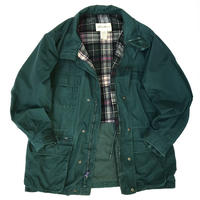 90s Eddie Bauer / Wool Lined Mountain Jacket / Forest / Used