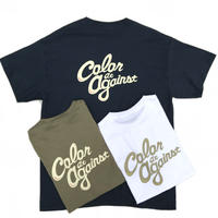 Color at Against Originals / C&C Tee  / White , Khaki , Deep Blue