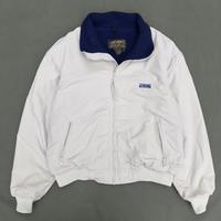 Made in USA / Eddie Bauer / Nylon Fleece Jacket / Ivory / Used