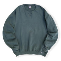00's Russell Athletic / Solid Sweat /  Olive XLT / Used
