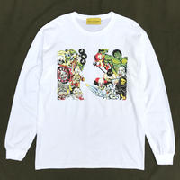 Taka × CaA / Childhood  L/S Tee / White