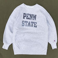 "Made in USA / 90s Champion / Reverse Weave Sweat ""PENN STATE"" / Heather Gray / Used"