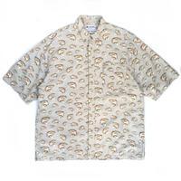 Columbia / S/S B.D. Fishing Shirt  /  Lt Beige / Used