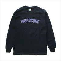 Bedlam / Hiscore Long-Sleeve Tee / Black
