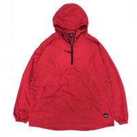 90s L.L.Bean /  Nylon Anolak  / Red / Used