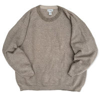 Made in USA / 90's L.L.Bean / Cotton Knit / Beige XXL / Used