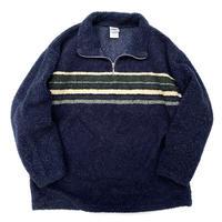 00s Half Zip Fleece Pullover / Navy / Used