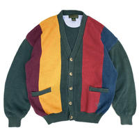 Cotton Cardigan / Multi Color / Used