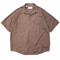 Made in USA / Filson Garment / 2Pocket Cotton Outdoor Shirt / Brown / Used