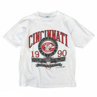 Made in USA / 90's MLB / Cincinnati Reds Tee / White / Used