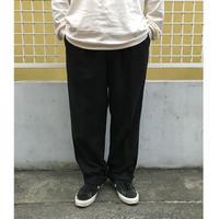 Polo Ralph Lauren / Cotton 2Tuck Slacks  /  Black  / Used  L