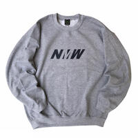 NERDY MOUNTAIN WORKS / NMW CREW SWEAT / GREY