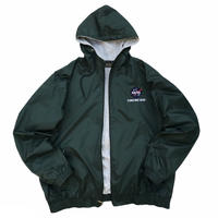 """NASA"" Polyester Lined Full Zip Nylon Jacket / Forest / Used"