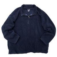 Faded Glory / Half Zip Fleece Jacket / Navy / Used