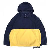 <Men's FUDGE掲載商品>OLD Gap / Nylon 2 Tone Anorak  / Navy × Yellow / Used